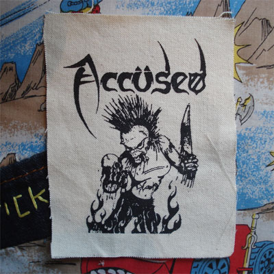 ACCUSED PATCH 包丁女