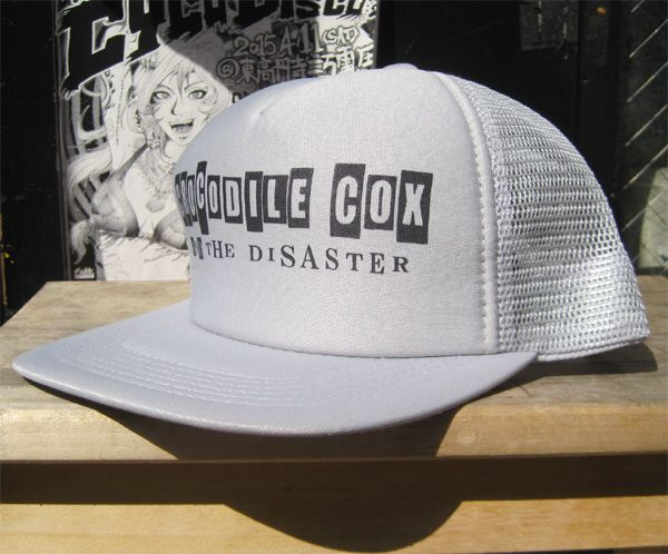 CROCODILE COX AND THE DISASTER メッシュCAP 2