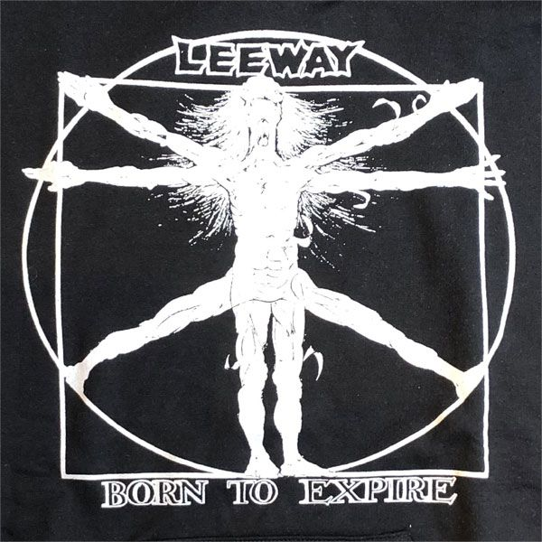 LEEWAY パーカー BORN TO EXPIRE
