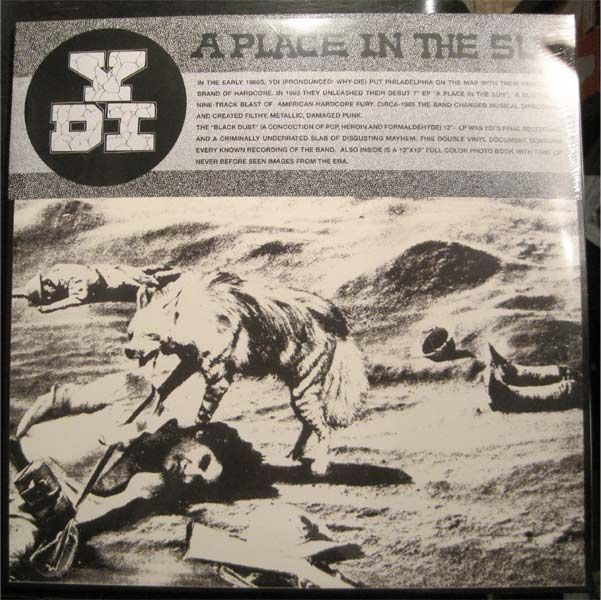 "YDI 12""LPx2 A PLACE IN THE SUN/BLACK DUST"