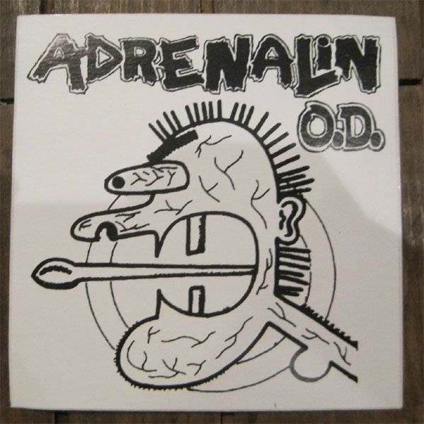 ADRENALIN O.D. ステッカー