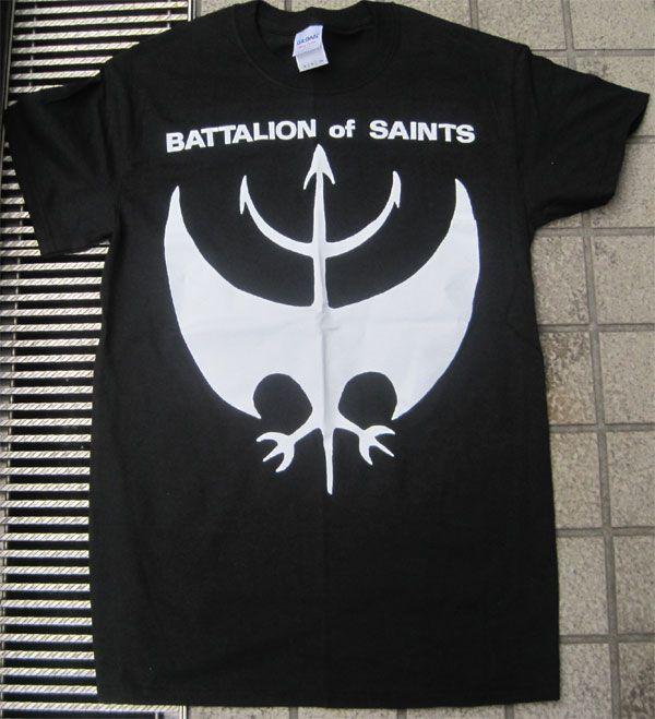 BATTALION OF SAINTS Tシャツ LOGO2