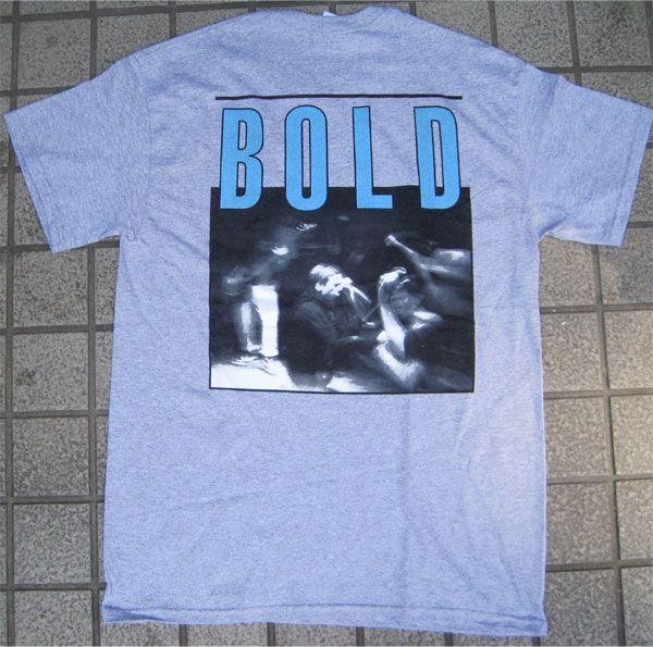 BOLD Tシャツ LIVE