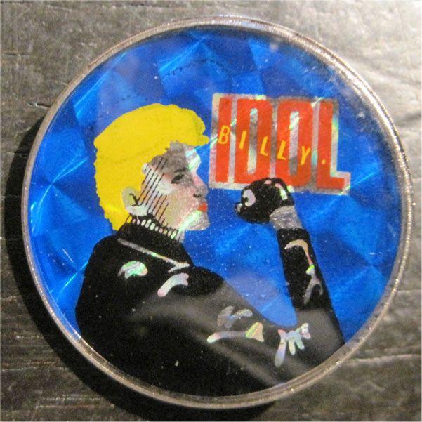 BILLY IDOL メタルバッジ