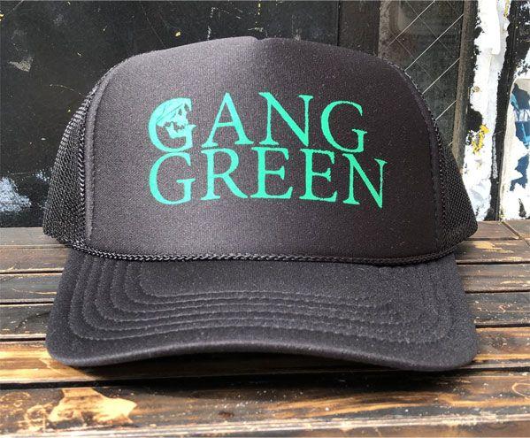 GANG GREEN メッシュCAP 2