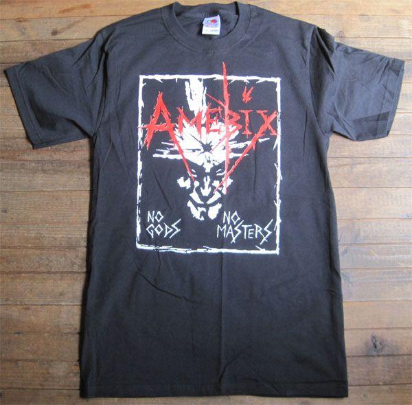 AMEBIX Tシャツ NO GODS NO MASTERS