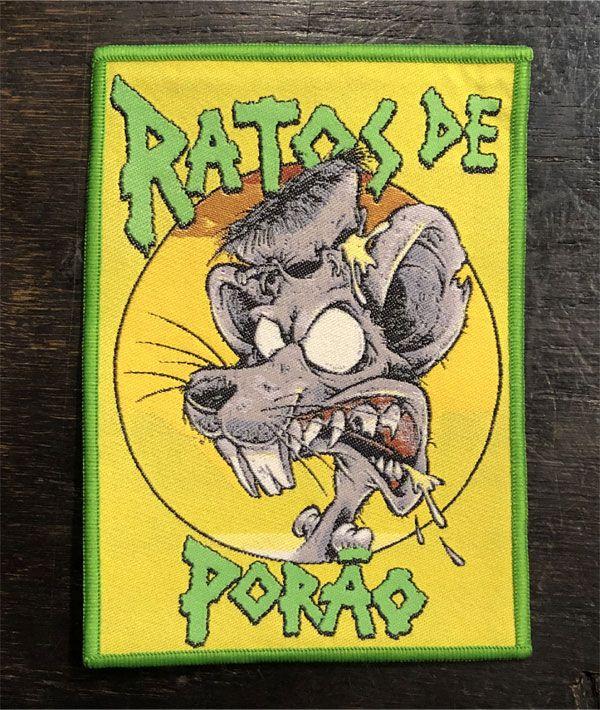 RATOS DE PORAO 刺繍ワッペン RAT