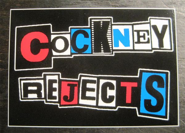 COCKNEY REJECTS ステッカー LOGO