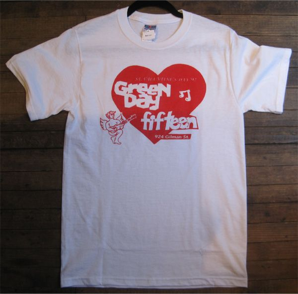 FIFTEENxGREENDAY Tシャツ GILMAN LIVE