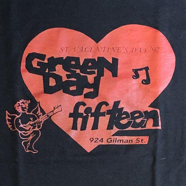 FIFTEENxGREENDAY Tシャツ GILMAN LIVE
