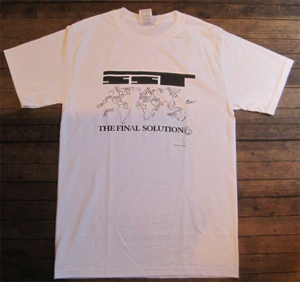 SST RECORDS Tシャツ FINAL SOLUTION