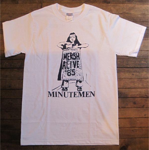 MINUTEMEN Tシャツ MERSH ALIVE '85