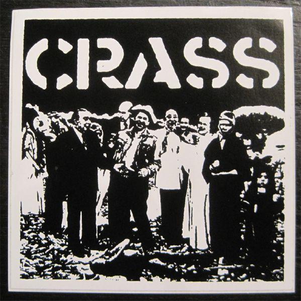 CRASS ステッカー 1