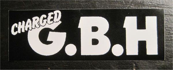 G.B.H ステッカー ロゴ