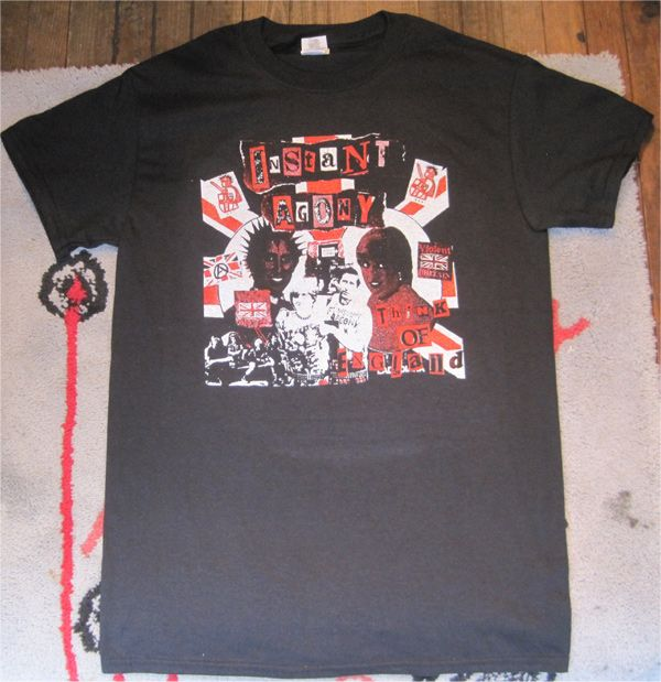 INSTANT AGONY Tシャツ Think Of England