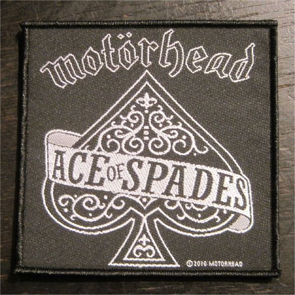 MOTORHEAD 刺繍ワッペン ACE OF SPADE 3
