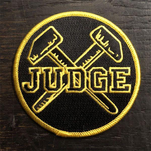 JUDGE ワッペン マーク
