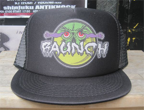 RAUNCH RECORDS メッシュCAP A FUCKED UP PLACE