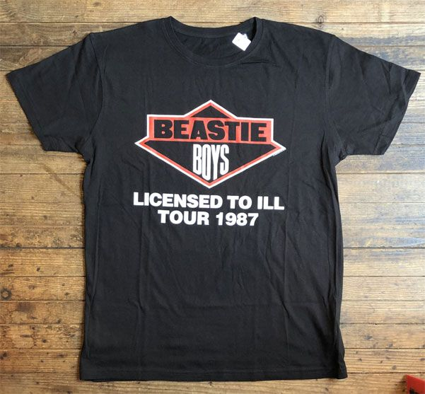 BEASTIE BOYS Tシャツ LICENSED TO ILL TOUR オフィシャル!