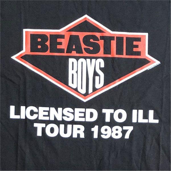 BEASTIE BOYS Tシャツ LICENSED TO ILL TOUR オフィシャル!