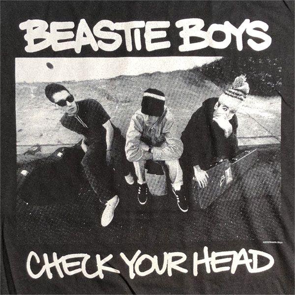 BEASTIE BOYS Tシャツ CHECK YOUR HEAD オフィシャル