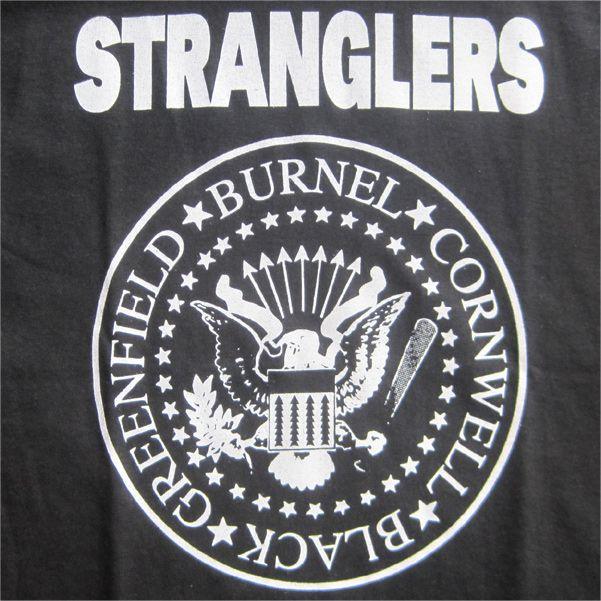 THE STRANGLERS Tシャツ RAMONESパロディー