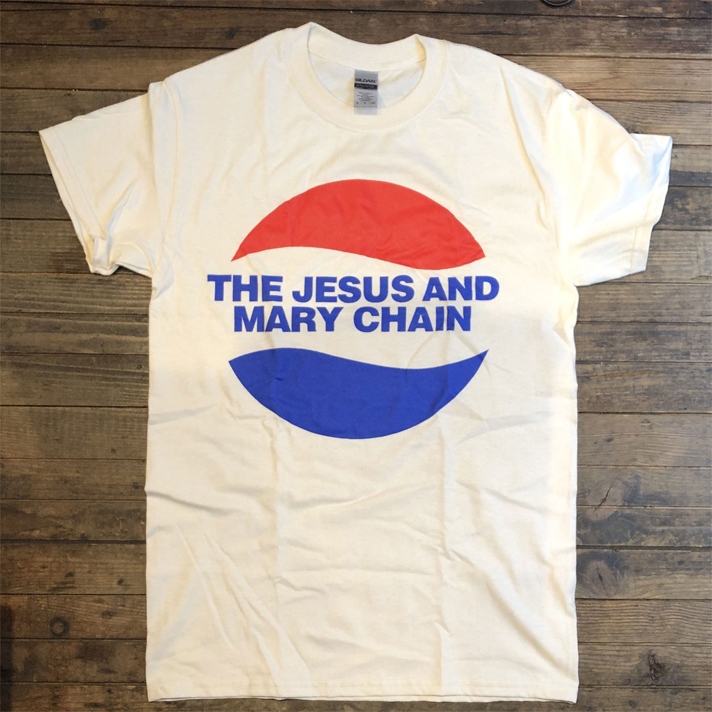 THE JESUS AND MARY CHAIN Tシャツ PEPSI LOGO