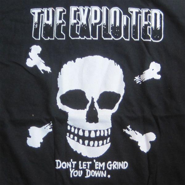 EXPLOITED Tシャツ DON'T LET 'EM GRIND YOU DOWN