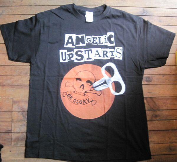 ANGELIC UPSTARTS Tシャツ Teenage Warning