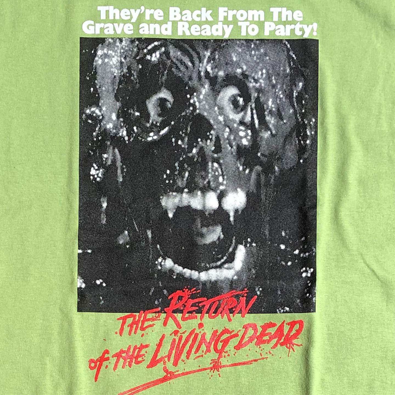 THE RETURN OF THE LIVING DEAD Tシャツ TARMAN オフィシャル!