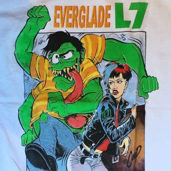 L7 Tシャツ EVERGLADE