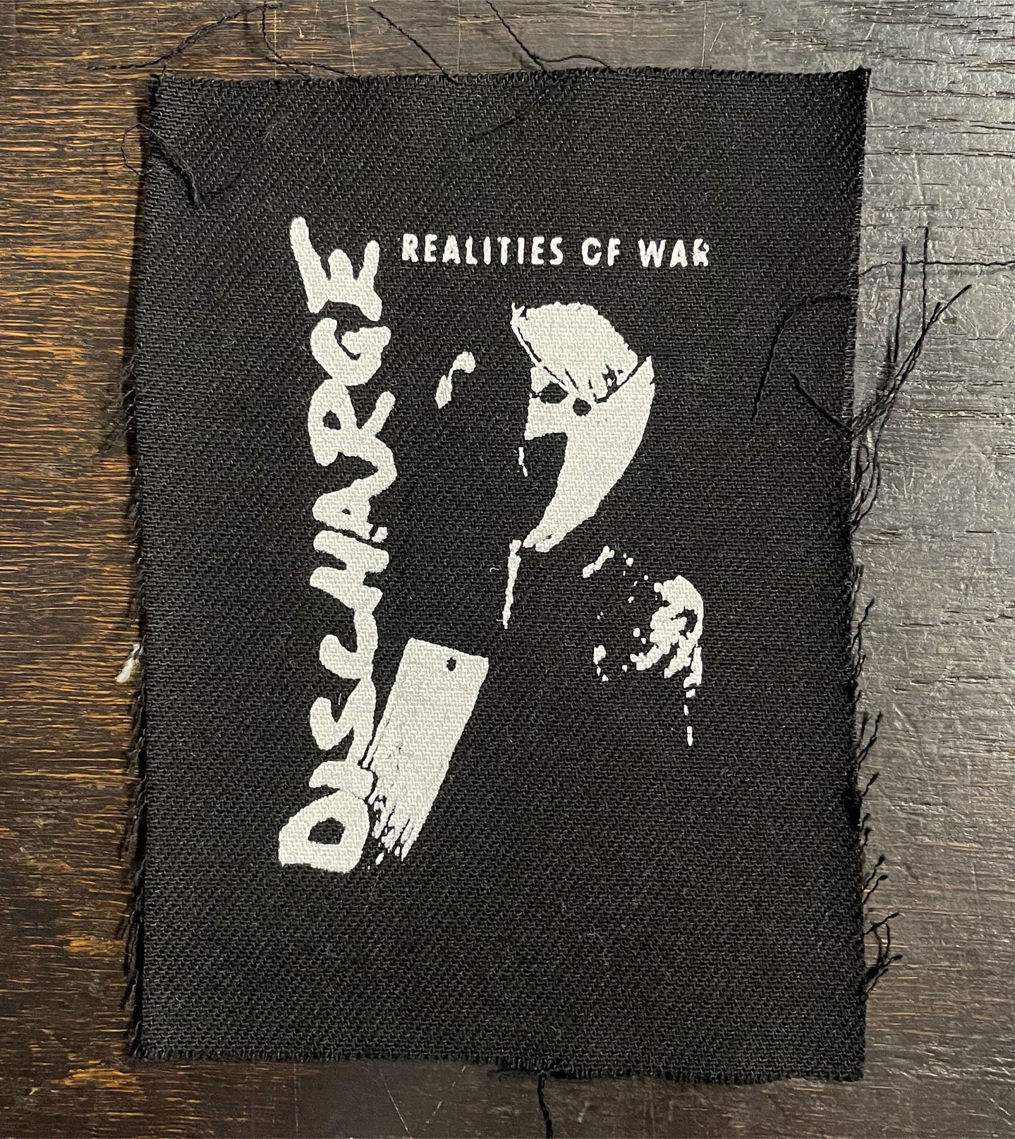 DISCHARGE PATCH REALITIES OF WAR