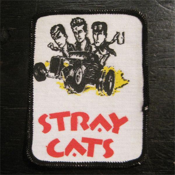 STRAY CATS VINATGEワッペン CAR