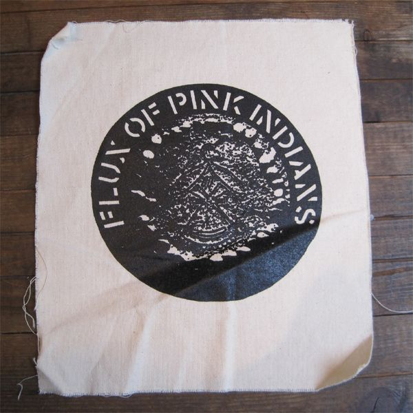 FLUX OF PINK INDIANS BACKPATCH NEU SMELL