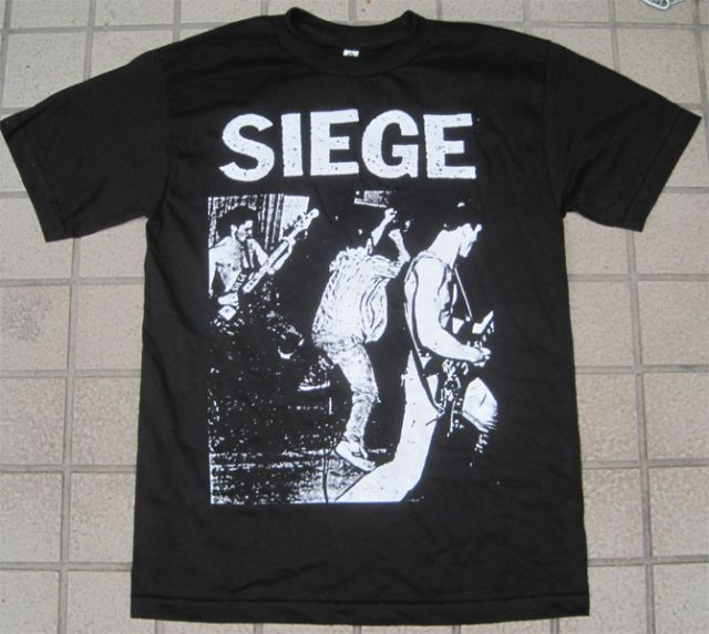 SIEGE Tシャツ LIVE PHOTO OFFICIAL!
