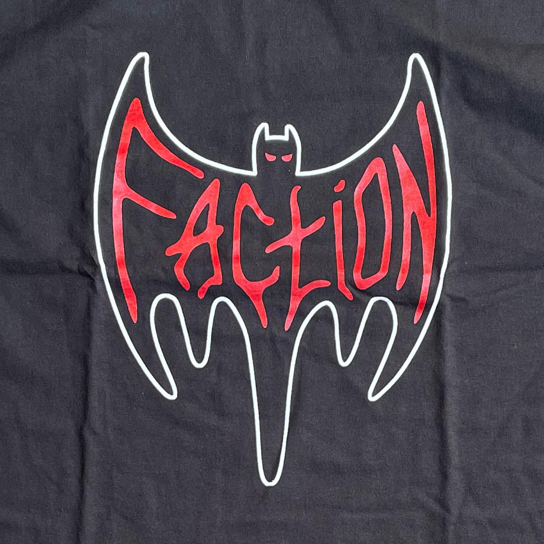 FACTION Tシャツ BAT オフィシャル!