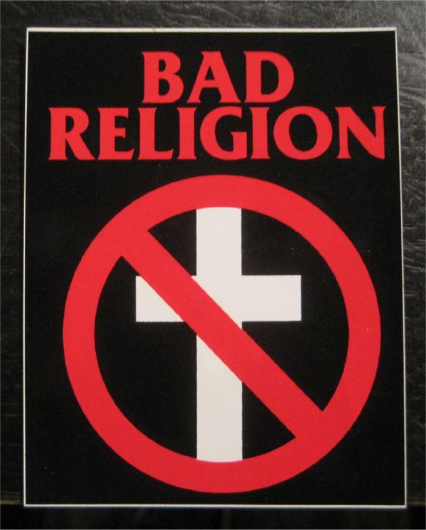 BAD RELIGION ステッカー