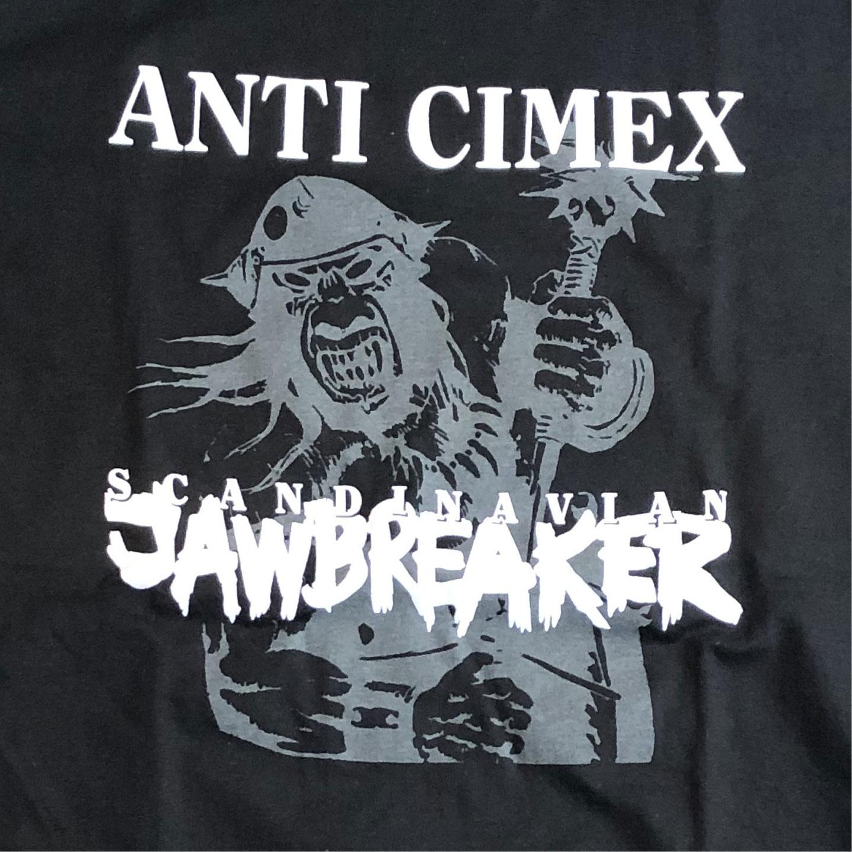 ANTI CIMEX Tシャツ SCANDINAVIAN JAWBREAKER