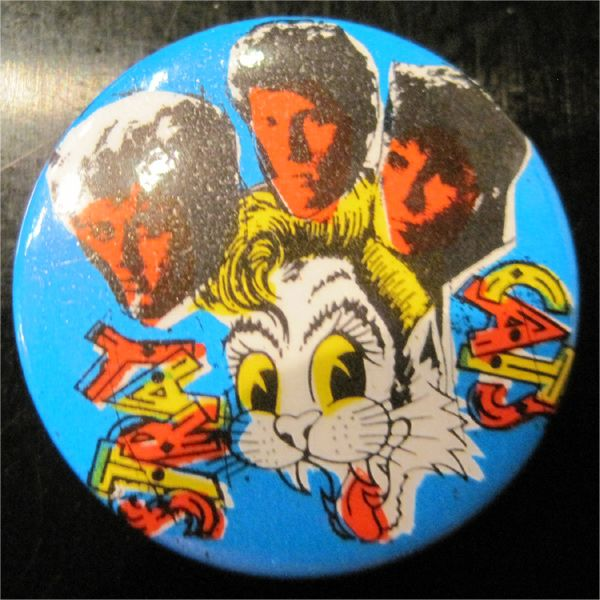 STRAY CATS VINTAGE小バッジ MEMBER AND CAT