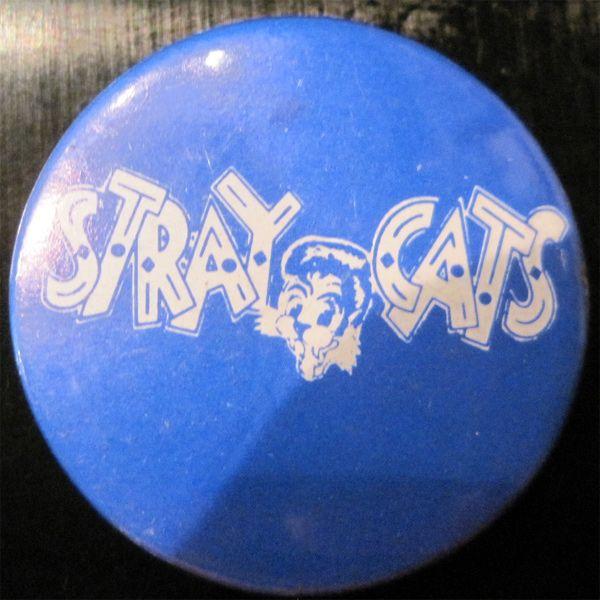 STRAY CATS レア小バッジ LOGO