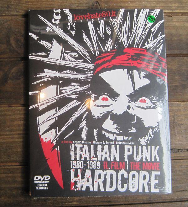ITALIAN PUNK HARDCORE THE MOVIE DVD
