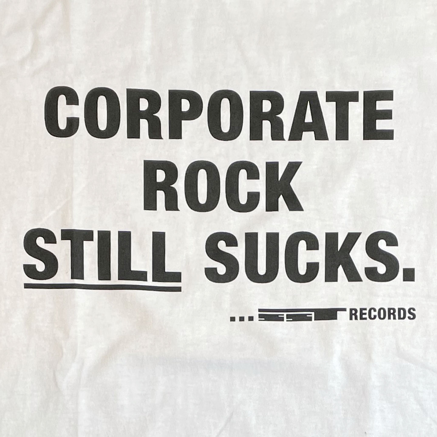SST RECORDS Tシャツ CORPORATE ROCK