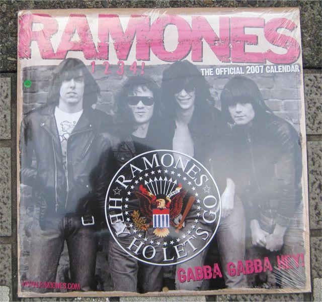 RAMONES カレンダー 2007