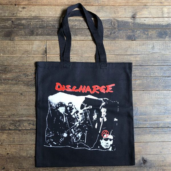 DISCHARGE TOTEBAG PHOTO