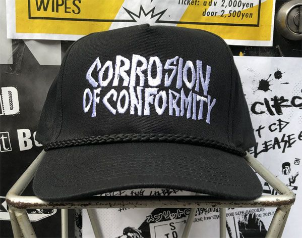 CORROSION OF CONFORMITY CAP LOGO