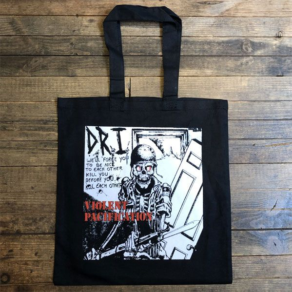 D.R.I. TOTEBAG Violent Pacification