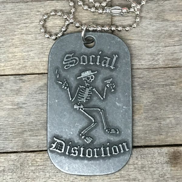 SOCIAL DISTORTION DOGTAG ネックレス