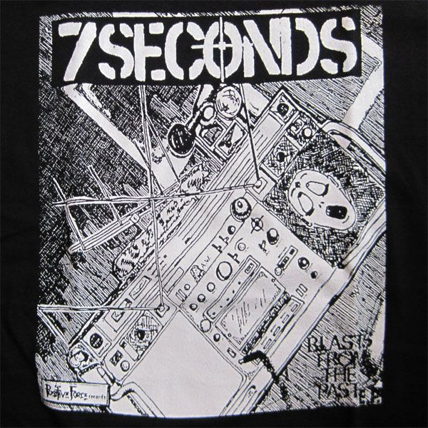 7SECONDS Tシャツ BLASTS FROM THE PAST