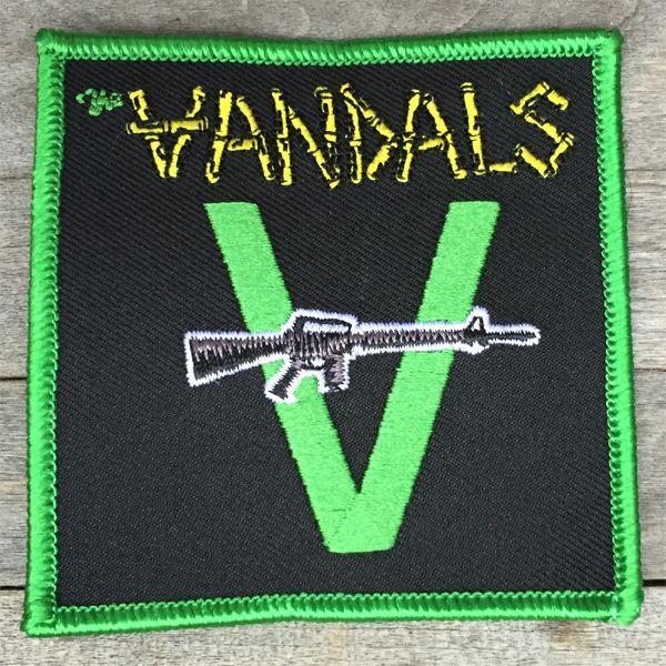 THE VANDALS 刺繍ワッペン1st