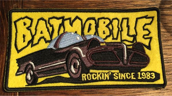 BATMOBILE 刺繍ワッペン 1983